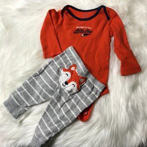 Carter's mommy's sly guy outfit 6M